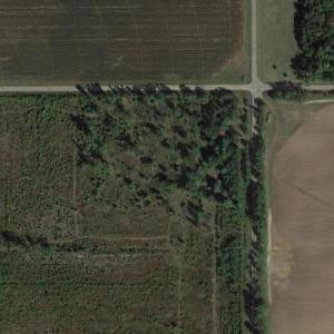 Serial killer Ed Gein's farm (Google Maps)