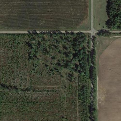 Serial killer Ed Gein's farm (Google Maps)