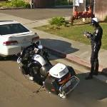Motorcycle Police Officer (StreetView)