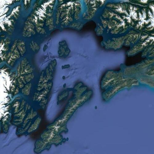 Prince William Sound (Google Maps)