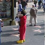 Mickey Mouse (StreetView)