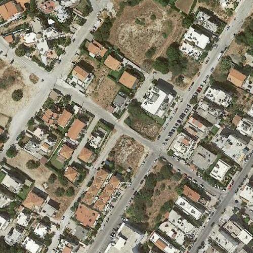 226 BCE Rhodes earthquake epicenter (Google Maps)