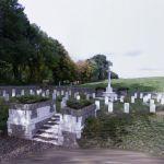 Le Fermont WWI war cemetery (StreetView)