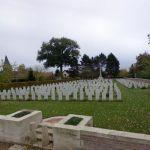 Wailly WWI war cemetery