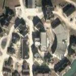 Fake town on Camp Lejeune (Google Maps)