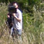 Taking a movie of Google Car (StreetView)
