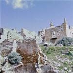 Destroyed Sicilian village (StreetView)