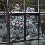 'Welcome Parade' by Jean Dubuffet (StreetView)