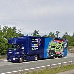 WRC Ford (Scania team truck) (StreetView)