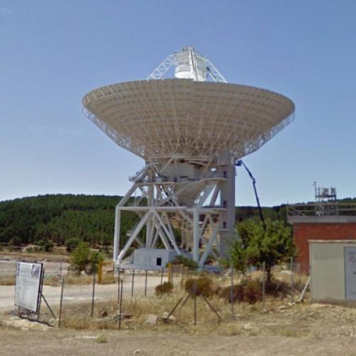 Sardinia Radio Telescope (Under Construction) (StreetView)
