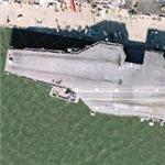 USS Theodore Roosevelt (CVN-71) (Google Maps)