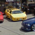 Lamborghini Diablo (StreetView)
