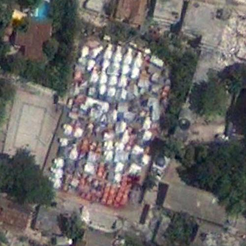 2010 Haiti Earthquake Recovery Tent Camp (Google Maps)