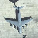 USAF C-17 Globemaster III (Google Maps)