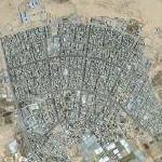 Rafah refugee camp (Google Maps)