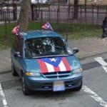 Patriotic Van (StreetView)