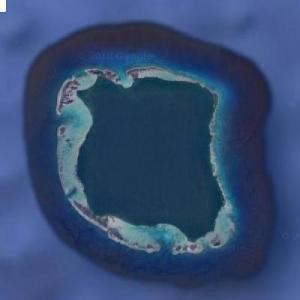 North Sentinel Island (Google Maps)