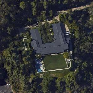 Jeffrey Katzenberg's house (Google Maps)