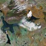 Lake Taymyr (Google Maps)