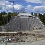 New Holmenkollen ski jump arena (under construction)