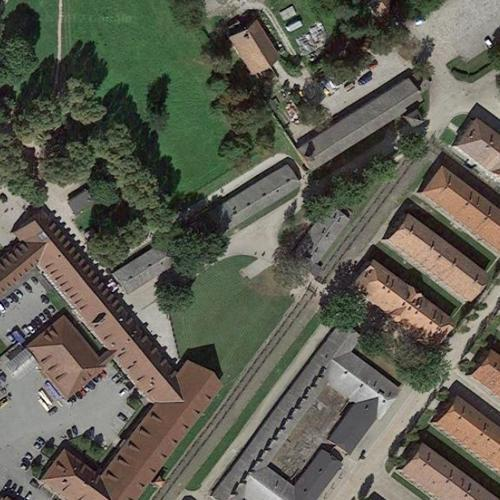 Where Was The Auschwitz Camp Located: Auschwitz I Concentration Camp Main Gate In Oświęcim