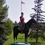Mountie and Horse