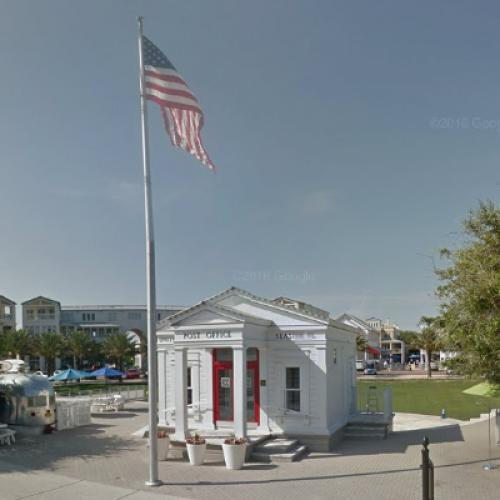 Town Square from 'The Truman Show' (StreetView)