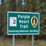 Purple Heart Trail (StreetView)