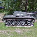 T-54 Ps 261-43 tank (StreetView)