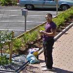 Looking at the Google Car (StreetView)