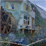 Brixton Mural Project - 'Big Splash' by Christine Thomas