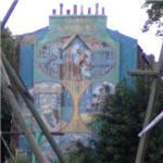 Brixton Mural Project - Slade Gardens Adventure Playground Association Mural (StreetView)