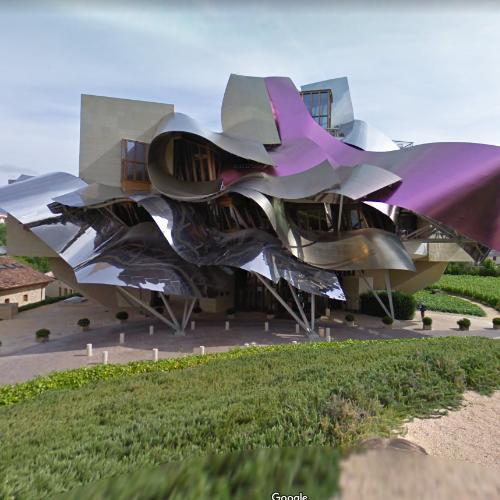 'Hotel Marques De Riscal' by Frank Gehry (StreetView)