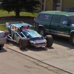 Race car (StreetView)