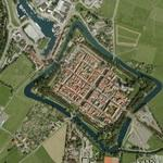 Fortified town (Google Maps)