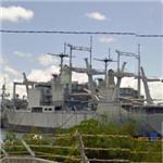 USS St Louis (LKA-116) and USS Durham (LKA-114)