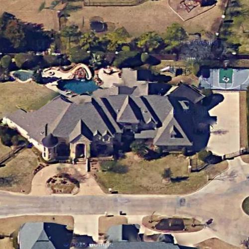 Joe DePinto's House In Southlake, TX (Google Maps