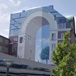 Trompe l'oeil at Halmtorvet (StreetView)