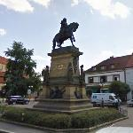 Equestrian monument of George of Poděbrady (StreetView)