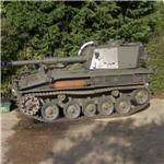 Small self propelled gun