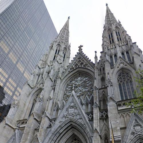 Saint Patrick's Cathedral - New York (StreetView)