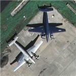 Naval Lockheed PV-1 Venturas (Google Maps)
