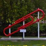 World's Largest Paper Clip (StreetView)