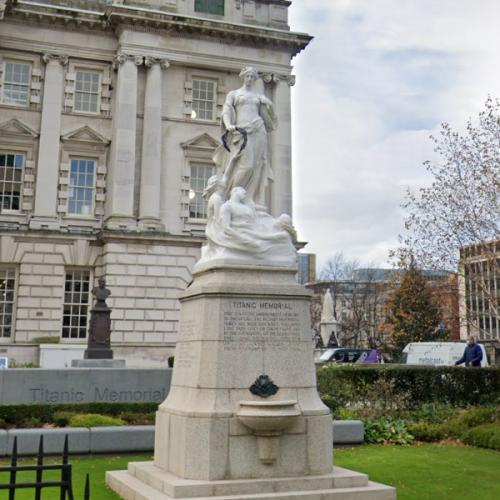 Titanic Memorial (Belfast) (StreetView)