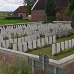 WWI: Wellington Cemetery (StreetView)
