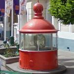 Lantern and Fresnel lens from Trial Island Lighthouse (StreetView)
