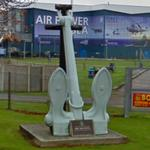 Sheet anchor from HMS Eagle (StreetView)