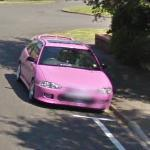 Barbie car (StreetView)