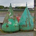 Sea buoys (StreetView)