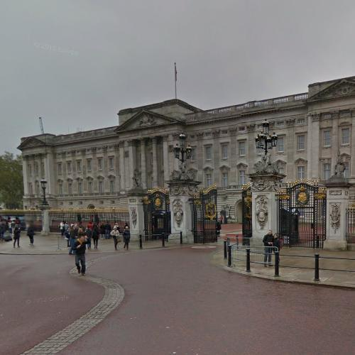 Buckingham Palace (StreetView)